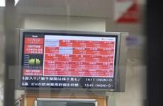 Nối tiếp đà phố Wall, chứng khoán châu Á đồng loạt giảm điểm