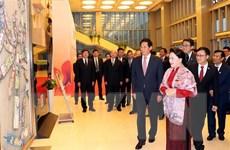 Chủ tịch Quốc hội dự chương trình Nhịp cầu hữu nghị tại Bắc Kinh