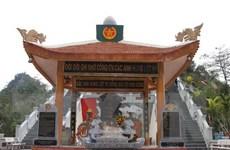 Hà Giang truy điệu, an táng hài cốt liệt sỹ tại nghĩa trang Vị Xuyên