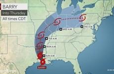 Hàng triệu người dân Mỹ tại Louisiana đối mặt với lũ lụt do bão Barry