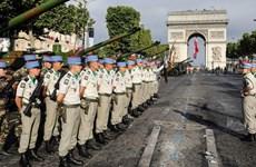 Pháp tổ chức lễ diễu binh quy mô lớn kỷ niệm ngày Quốc khánh