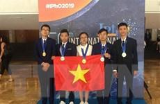 [Video] Việt Nam giành 3 HCV, 2 HCB Olympic Vật lý quốc tế