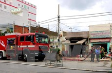 TP. HCM: Nghi bình gas phát nổ khi đang nấu ăn, một người bị thương