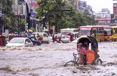 Gần 6 triệu người tại khu vực Nam Á đang bị đe dọa do mưa lũ kéo dài