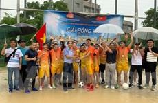 Ấn tượng giải đấu bóng đá Vysaf Open của thanh niên Việt tại Nhật Bản