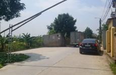 Hải Dương: Người dân một số thôn tự ý lập trạm thu phí xe tải