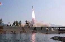 Hàn Quốc: Triều Tiên phóng loại tên lửa mới chưa từng thấy trước đây