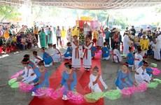 Nhiều hoạt động đặc sắc trong ngày hội văn hóa, thể thao đồng bào Chăm
