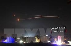Israel tấn công tên lửa vào khu vực biên giới ở miền Nam Syria