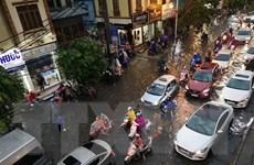 [Video] Bão số 3 gây mưa to tại Hà Nội, có khả năng ngập khu nội thành