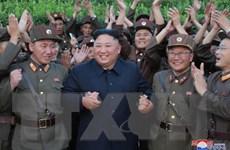 [Photo] Triều Tiên sẽ ngừng phóng tên lửa khi tập trận Mỹ-Hàn kết thúc