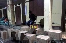 Cao Bằng bắt vụ vận chuyển gần 3 tấn pháo lậu qua biên giới