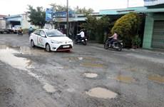 Kiên Giang: Nhiều đoạn trên Quốc lộ 80 xuống cấp, hư hỏng nặng