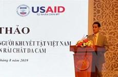 Hỗ trợ người khuyết tật tại 7 tỉnh bị phun rải chất độc da cam