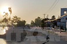 Quốc lộ 91 đoạn qua tỉnh An Giang tiếp tục xảy ra sạt lở lớn
