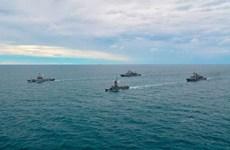 Cuộc tập trận hải quân chung đầu tiên giữa các nước ASEAN và Mỹ