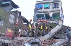 Sập nhà ở Ấn Độ khiến 5 người thương vong, nhiều người mắc kẹt