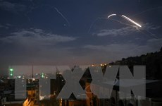 Syria thông báo bắn hạ nhiều tên lửa của Israel phóng đi từ Golan