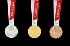 Nhật Bản công bố thiết kế huy chương của Paralympic Tokyo 2020