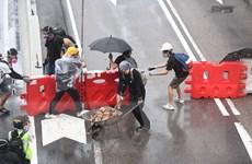 Cảnh sát Hong Kong bắt giữ 159 người dính líu bạo lực quy mô lớn
