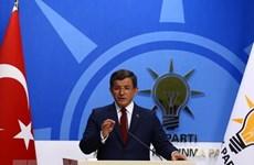 Cựu Thủ tướng Thổ Nhĩ Kỳ rút khỏi AKP, lập đảng chính trị mới