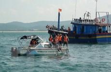 Quảng Bình tìm thấy thi thể nạn nhân mắc kẹt trong tàu cá bị chìm