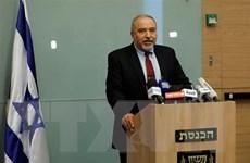Cựu Bộ trưởng Quốc phòng Israel kêu gọi lập chính phủ liên minh