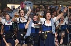 Lễ hội bia Oktoberfest lần thứ 186 chính thức đón chào du khách