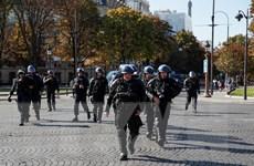 Pháp triển khai lực lượng an ninh lớn đề phòng biểu tình bạo loạn