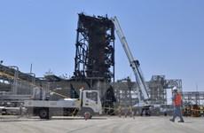 Saudi Aramco nêu thời hạn khôi phục hoàn toàn sản xuất sau vụ tấn công