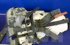 Iran trưng bày mảnh vỡ các máy bay không người lái của Mỹ bị bắn hạ