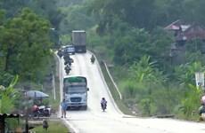 [Photo] Những 'điểm đen' giao thông trên tuyến Quốc lộ 6 tại Sơn La
