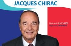[Infographics] Sự nghiệp chính trị nổi bật của cựu Tổng thống Chirac