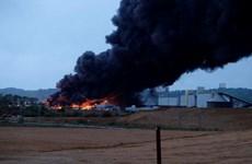 Cháy nhà máy hóa chất ở Pháp, lo ngại nguy cơ ô nhiễm sông Seine