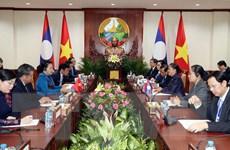 Quan hệ Việt Nam-Lào đang ngày càng phát triển, đi vào chiều sâu