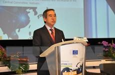 Việt Nam ủng hộ những nỗ lực kết nối Âu-Á của Liên minh châu Âu