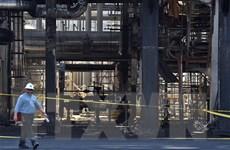 Xuất hiện video ghi lại vụ tấn công cơ sở lọc dầu của Saudi Arabia