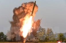 Hàn Quốc: Triều Tiên phóng tên lửa đạn đạo tầm cao khoảng 910km