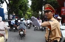 Hà Nội phân luồng giao thông phục vụ trận đấu giữa Việt Nam-Malaysia