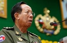 Đại tướng Campuchia lên đường sang Trung Quốc hội đàm quân sự