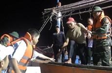 Quảng Nam đưa 12 ngư dân gặp nạn trên biển vào bờ an toàn