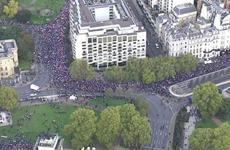 Anh: Hàng chục nghìn người tuần hành đòi tổ chức trưng cầu dân ý mới