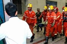 Sập hầm mỏ ở Trung Quốc khiến 2 người thiệt mạng, 9 người mắc kẹt