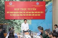 Phó Thủ tướng Trịnh Đình Dũng: Tập trung khắc phục hậu quả bão số 5