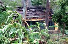 Lốc xoáy làm tốc mái hàng chục ngôi nhà tại Quảng Nam