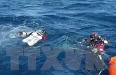 Hàn Quốc phát hiện vị trí máy bay trực thăng bị rơi trên biển