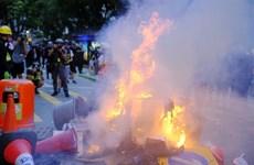 Chính quyền Hong Kong lên án hành động phá hoại trật tự công cộng