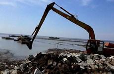 Kiên Giang: Hơn 15 tỷ đồng nạo vét luồng hàng hải bến cảng Rạch Giá