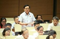 Đại biểu tiếp tục cho ý kiến về công tác tư pháp, phòng chống tội phạm