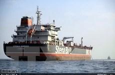 Anh hạ mức độ rủi ro an ninh đối với các tàu ở Eo biển Hormuz